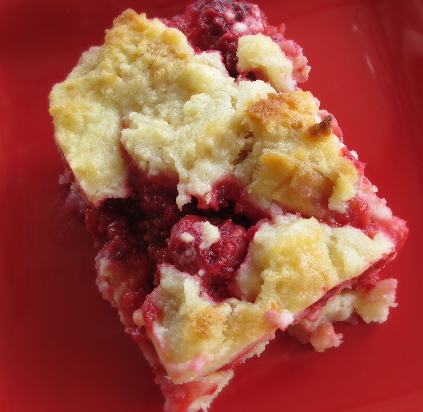 Raspberry Bread Pudding - Purple Chocolat Home