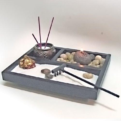 Georgia Hanna Jardim Zen em miniatura