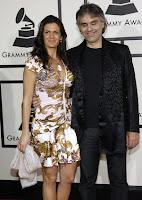 Andrea Bocelli Grammy's '08