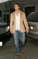 Brad Pitt Casual style