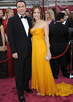 John Travolta and Kelly Preston Oscar's '08