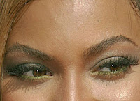 Beyonce false eyelashes