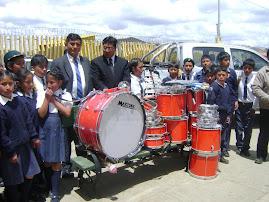 RECEPCION DE INSTRUMENTOS MUSICALES