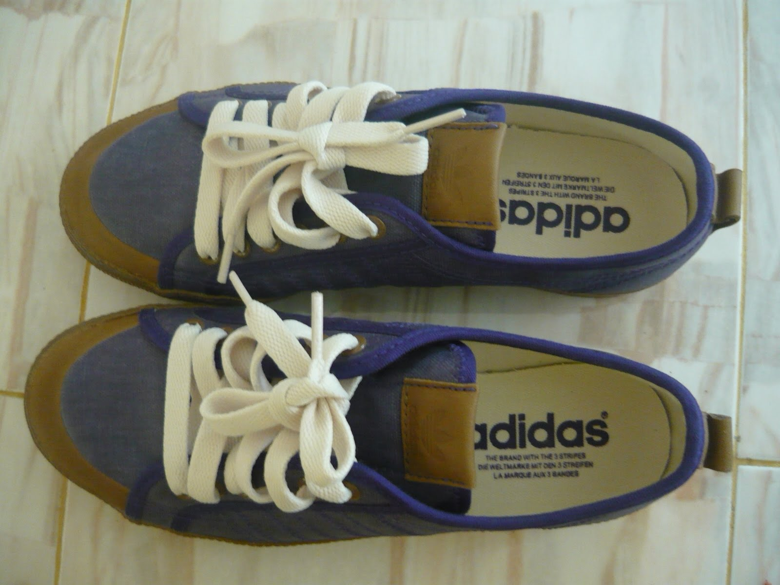 Kasut Adidas Nizza Size 7 UK used SOLD