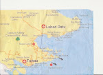 Peta Kawasan Pantai Timur Sabah