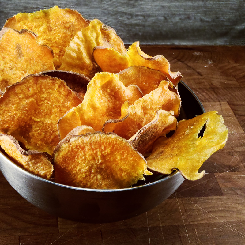 Barbecue Sweet Potato Chips Recipes — Dishmaps