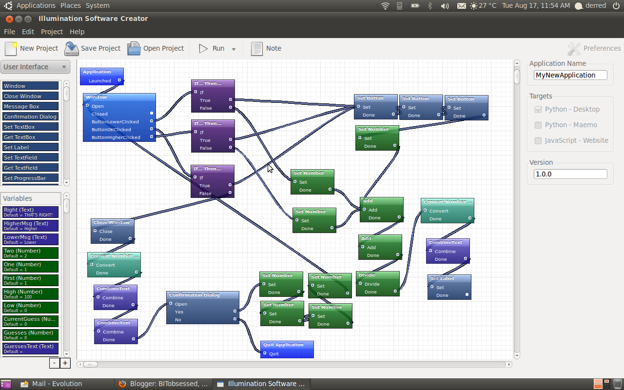 BITobsessed, confessions of a geek: Visual programming on a whole ...