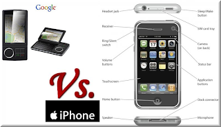 Google vs Iphone More Adwords