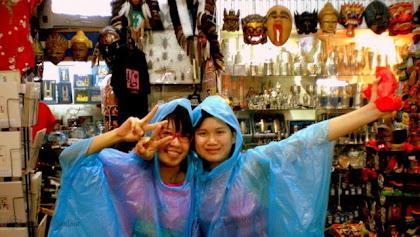 Raining day in Melaka