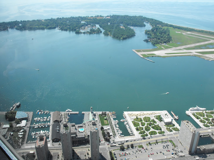 Toronto Islands from the CN Tower