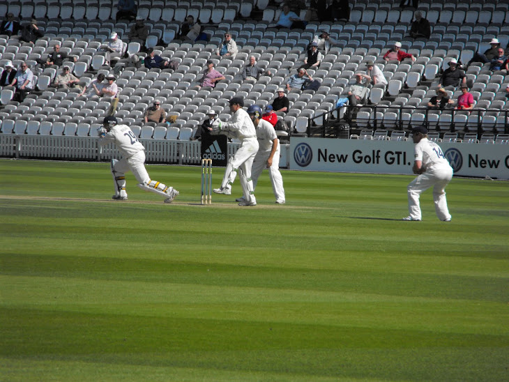 At Lord's Ground 24.4.09