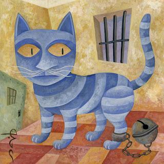 Trata de encerrar al gato Gatopresidiariob