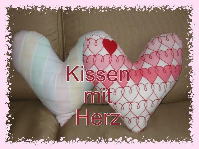 Kissen mit Herz