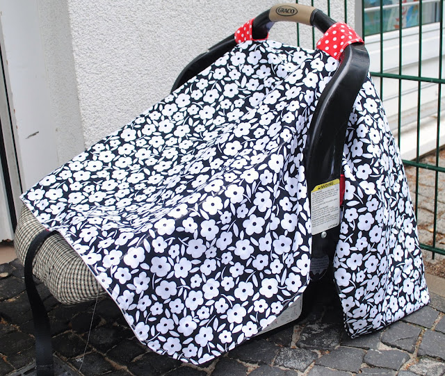 fabric car seat canopy