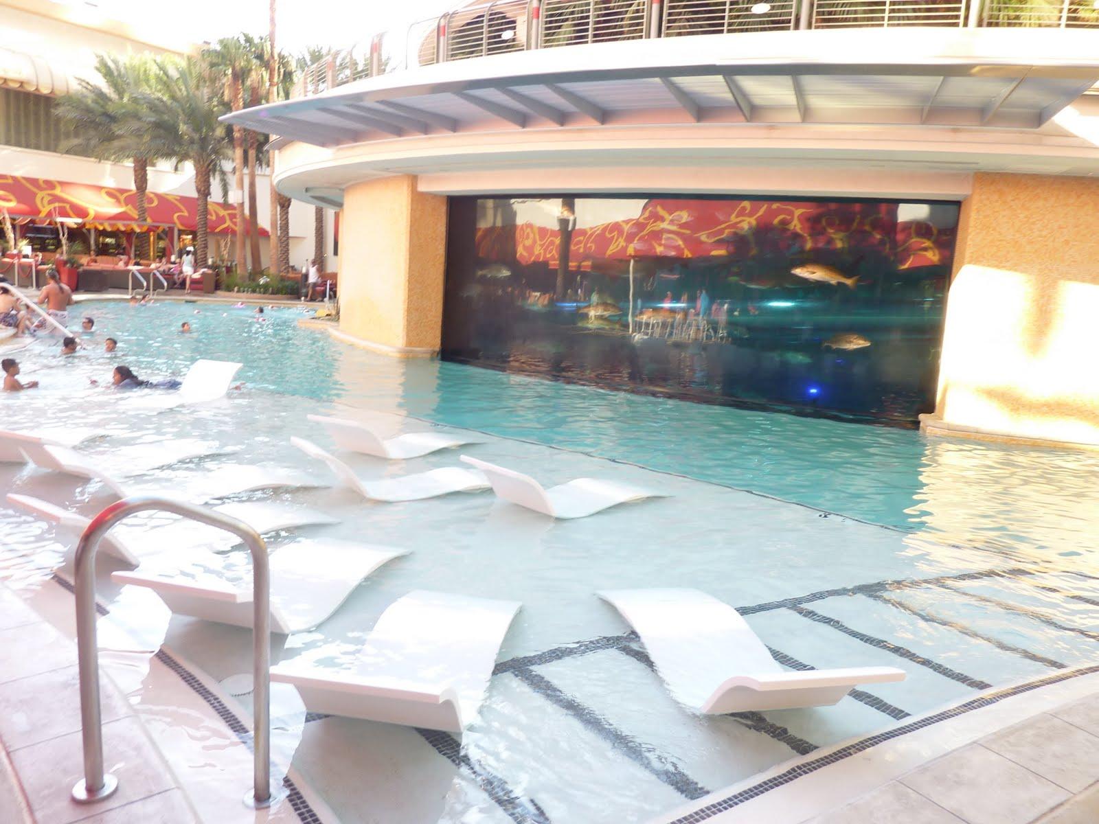 Viva Las Vegas Golden Nugget Shark Pool