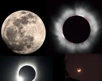 Gerhana bulan...