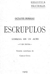 "Traduction espagnole de ""Scrupules"", 1909"