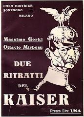 """Traduction italienne d'un sous-chapitre de """"La 628-E8"""", 1915"""