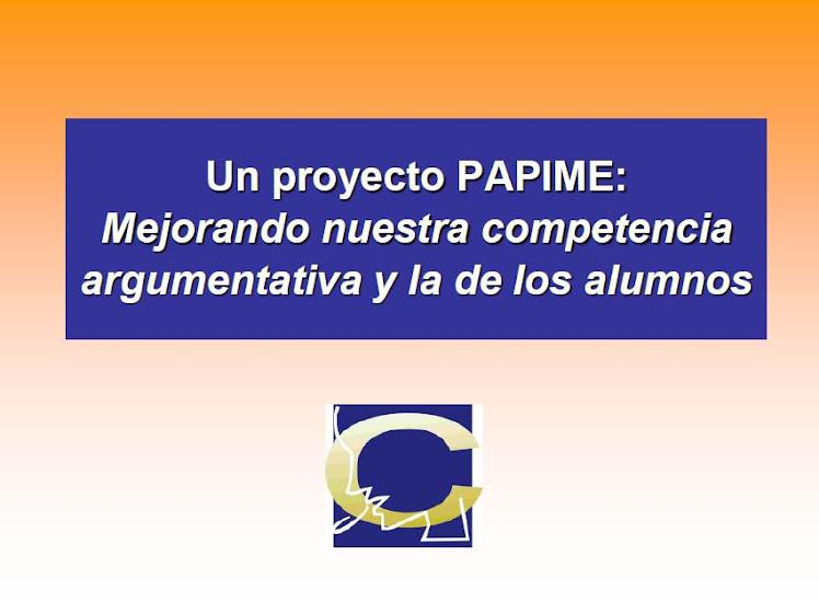 Presentacion del proyecto en PowerPoint