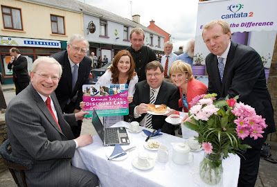 MEDIA IMAGES Taoiseach Brian Cowen Visits Scarriff