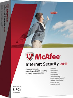 McAfee Internet Security 2011 + Crack