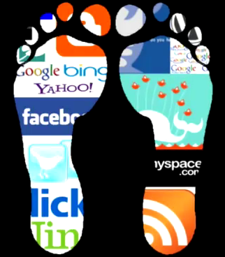 Online-footprints