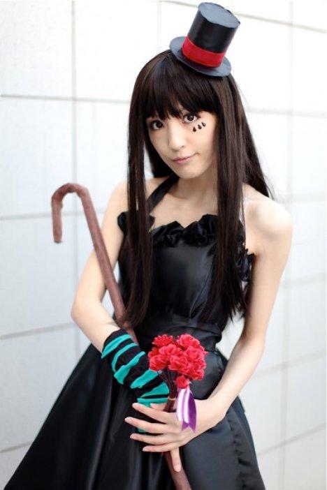 K-On cosplay K-On!+cosplay+-++Akiyama+Mio+2
