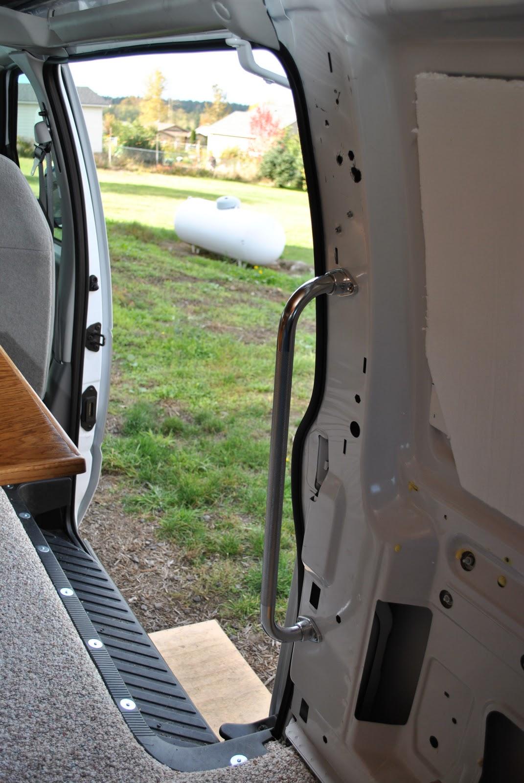 Ford Van Conversion Sink And Storage