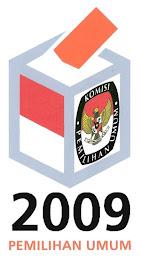 Ingat! Rabu, 8 Juli 2009 Pemilu Presiden dan Wakil Presiden