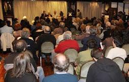 200 compañeros participaron del acto en el hotel Bauen