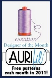 We're an AURIfil Designer of the Month