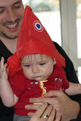 Pour l\u0027occasion, j\u0027ai porté un joli bonnet phrygien.