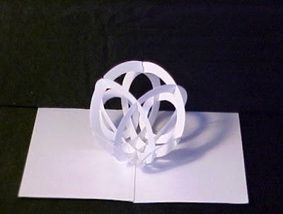 Handicrafts kirigami for Kirigami paper art