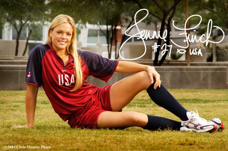 How old is jennie finch