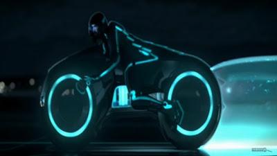 TRON Legacy Futuristic Bikes