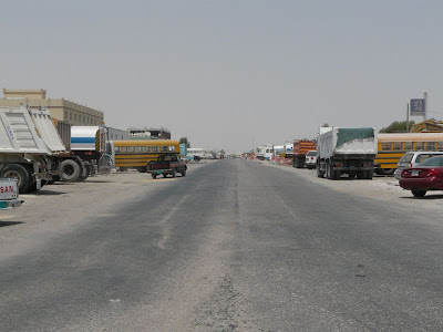A long and dusty road in The Industrial Area