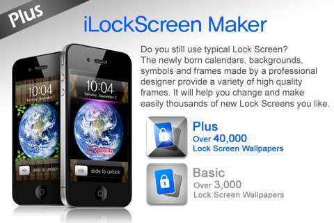 iLockScreen Maker - Plus Frame IPA 2.0 iPhone iPod Touch iPad Download 1.0.5