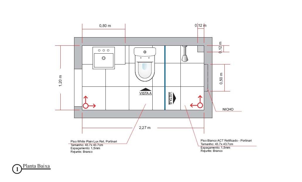 Gabinete Para Banheiro Planta de um banheiro pequeno -> Banheiro Pequeno Planta Baixa