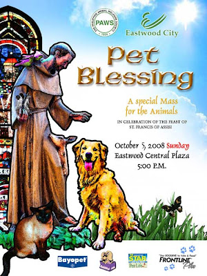 Pet Blessing at the Eastwood City, Quezon City