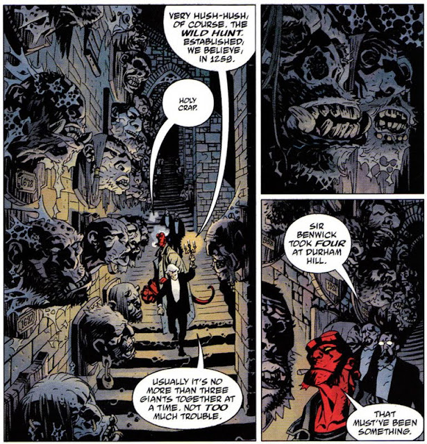Hellboy The Wild Hunt 1 pg 12