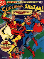 Superman vs Shazam cover