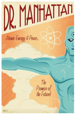 Doctor Manhattan Poster