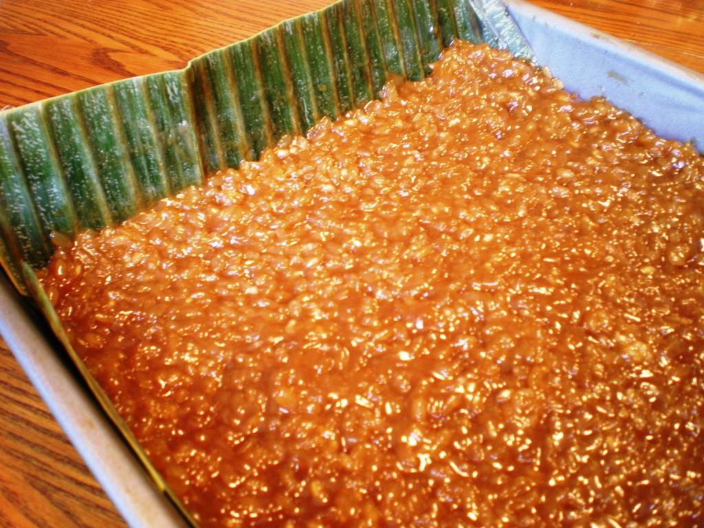 Filipino Coconut Rice Cake Recipe