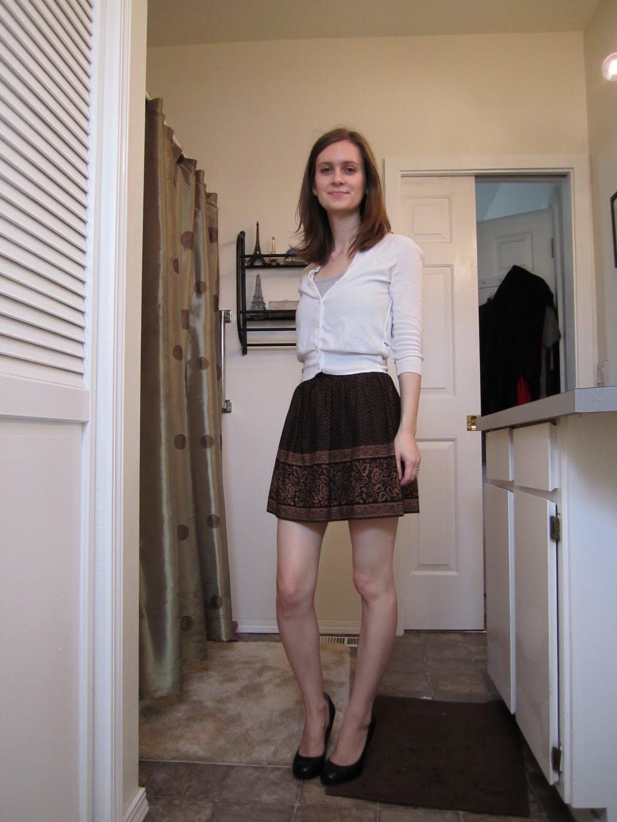 Can my wife wear a mini skirt?