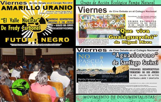 Ciclo de Cine Debate. Colegio Nacional - Dolores.