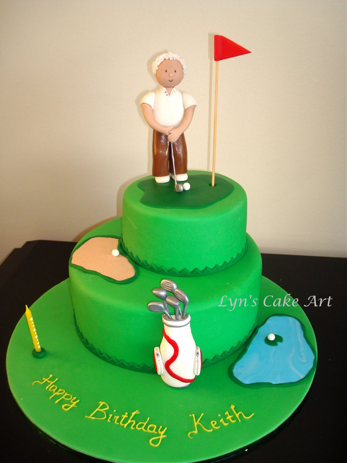 Cake Art Supplies Castle Hill : Lyn s Cake Art: Golf
