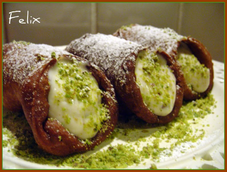 Cannoli Siciliani Cannoli siciliani senza