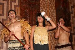 The Maori culture show