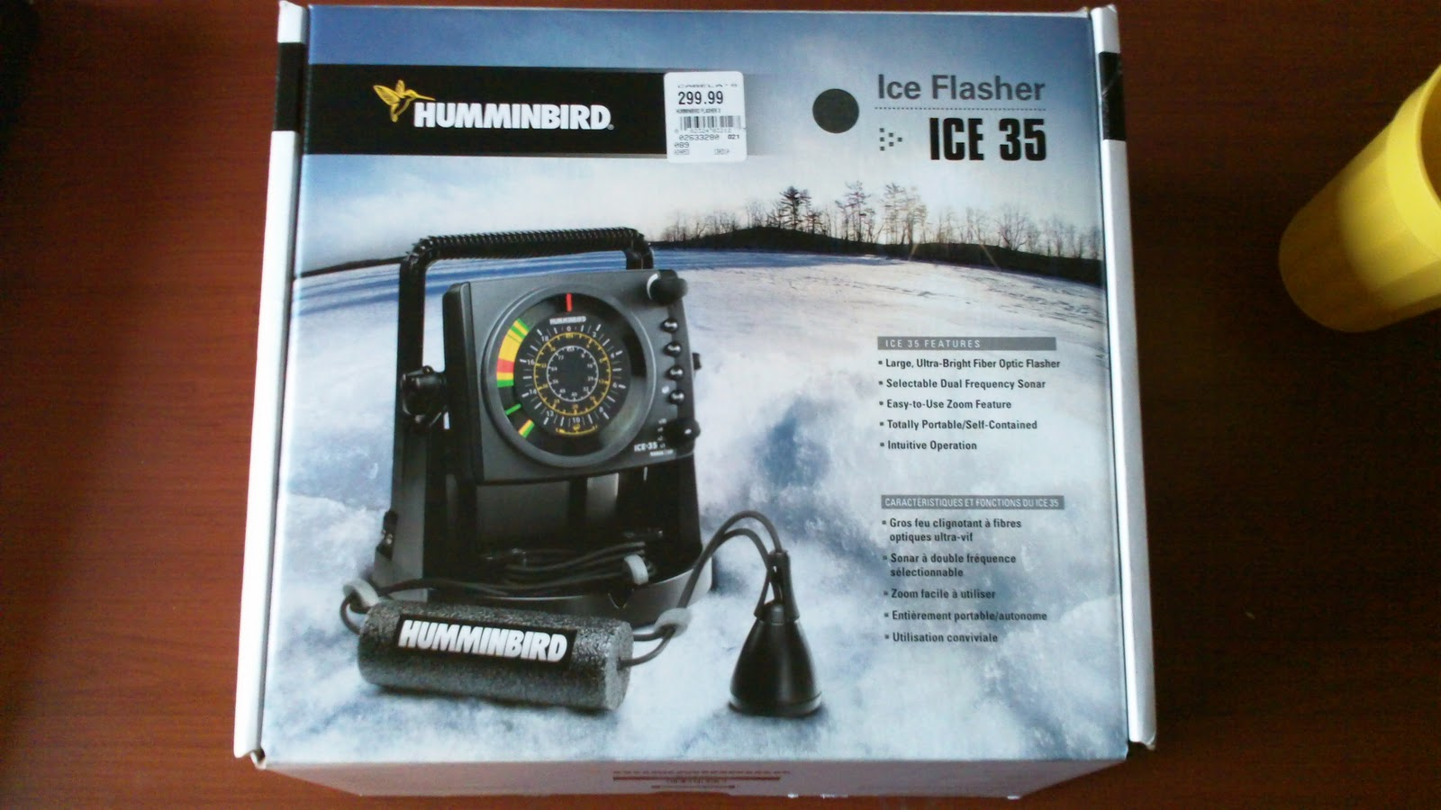 Illinois wisconsin fishing some new ice fishing gear for New ice fishing gadgets