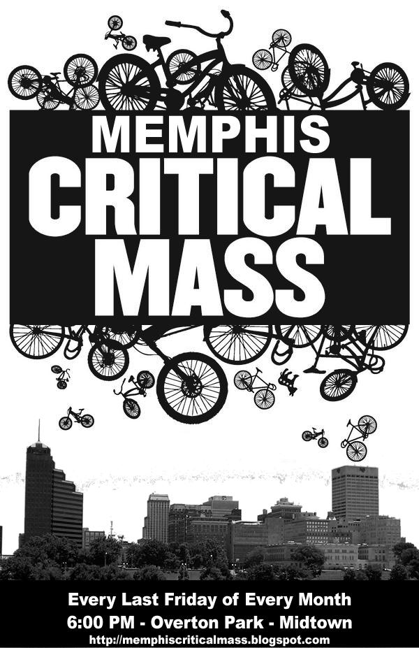 Critical Mass Plakat Memphis